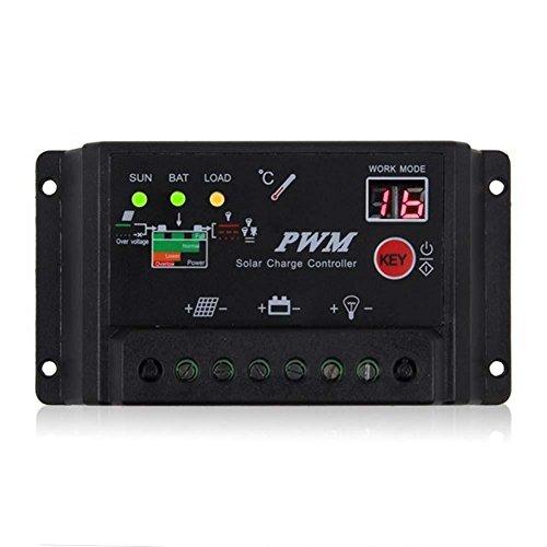 Sun YOBA 30A 12V 24V Solar Charge Controller Solar Regulator