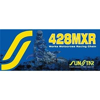 Sunstar 428MXR Works Motocross//Offroad Racing Chain Masterlink SS428MXR-L