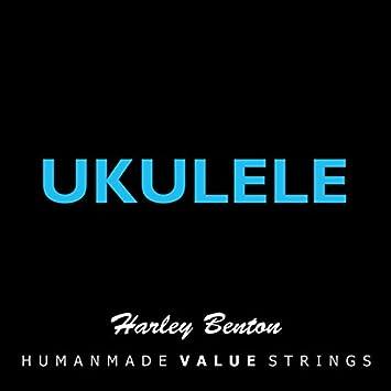 Harley Benton cuerdas para ukelele Standard en Nylon negro: Amazon.es: Instrumentos musicales