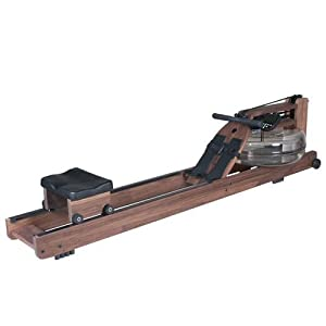 Water Rower Classic Rowing Machine in Black Walnut with S4 Monitor