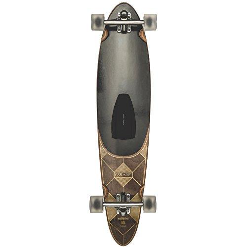 GLOBE HG Gsb Pinner Longboard Complete Skateboard, Dark Maple