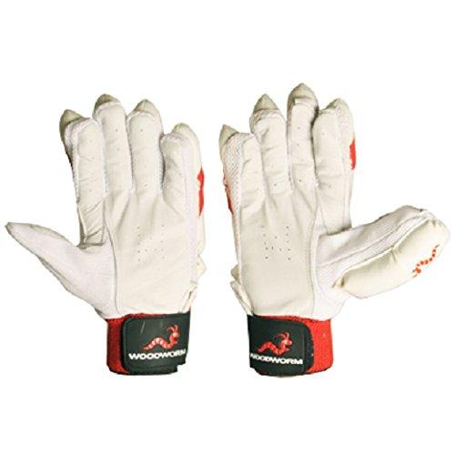 Woodworm Cricket Firewall Delta Red Batting Gloves