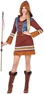 Atosa-54427 Disfraz Esquimales, Color marrón, X s-S (54427: Amazon ...