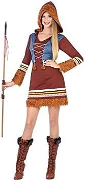 Atosa-54427 Disfraz Esquimales, Color marrón, X s-S (54427 ...