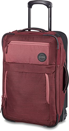 - Dakine Carry On Roller Luggage Bag, Burnt Rose, 40 L