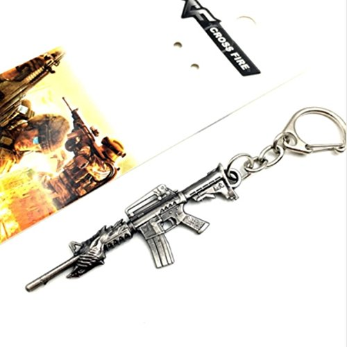 Compact Velo Safe (1 Pc Mini Pocket Rifle Gun Keychain Keyring Keyfob Soldier Warrior Police Cop Shooter Weapon Pendant Keys Chains Rings Tags Strap Wrist Eminent Popular Cute Wristlet Utility Keyrings Tool, Type-16)