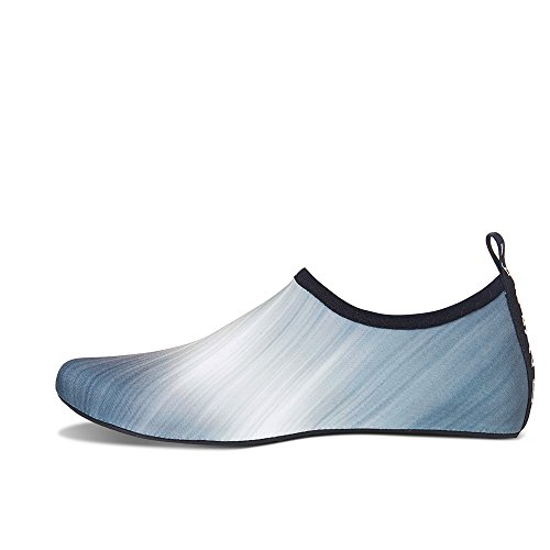 Socks Gradient Swim Mens Surf for Dry Barefoot Shoes and Quick Kids Beach Gray Yoga Womens Exercise Water Aqua TRzwBq