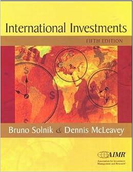 Solnik mcleavey global investments singapore forex homework chart