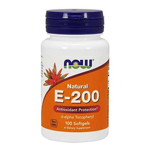 NOW E 200 d alpha,100 Softgels