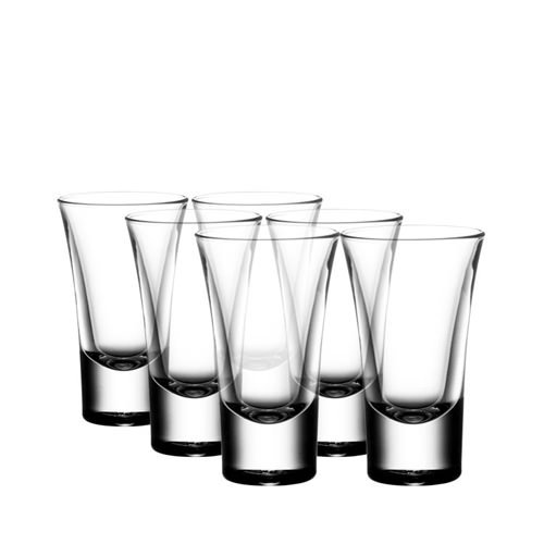 Gmark 2-Ounce Heavy Base Shot Glass Set, Whiskey Shot Glass 12-Pack GM2026 -