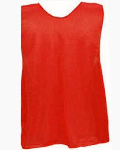 Champion Sports Adult Practice Vests Color: Scarlet (PSARD) 12pk