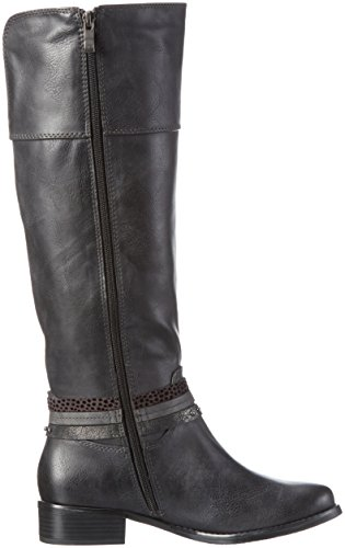 Tozzi 25501 Gris 229 Para A c Mujer Botines Marco anthracite gqdxHq