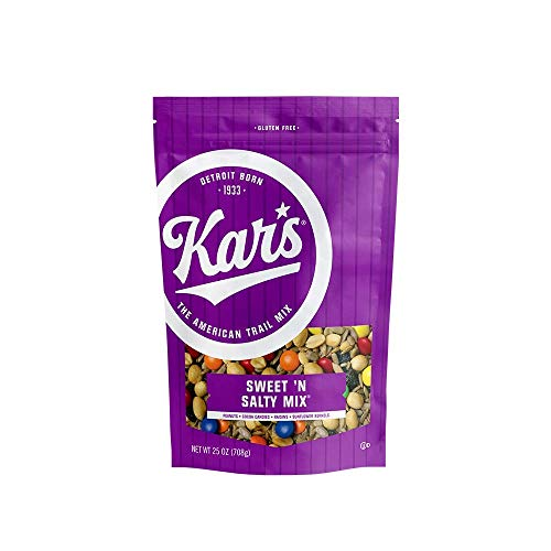 Kar's Nuts Sweet 'N Salty Trail Mix Snacks - High Protein, Gluten Free - 25 oz Resealable Pouch