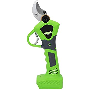 Kecheer Cordless Pruning Shears Electric Scissor with 2pcs 2Ah Rechargeable Battery Garden Pruners with Maintenance Tools 1in// 25mm Cutting Dia