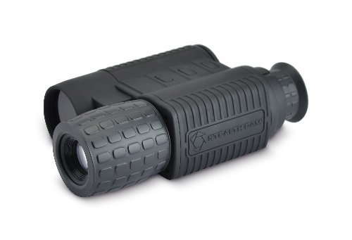 Stealth Cam Digital Night Vision Monocular with 9X Zoom, Brightness Control, 8/15/25 FPS adjust and IR on/off capability for day use Proven Quality and Reliability