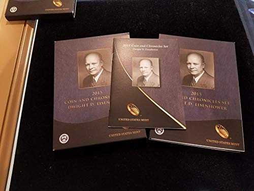- 2015 See Pic Dwight D Eisenhower Coin Chronicles Set Unc US Mint