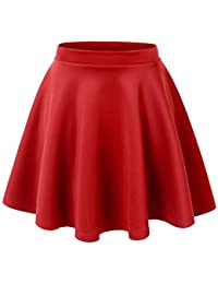Amazon.com: Red - Skirts / Clothing: Clothing, Shoes & Jewelry