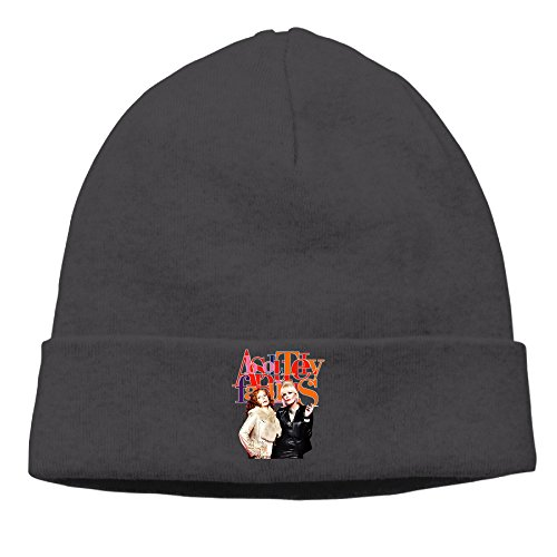 DETO Men's&Women's Absolutely Fabulous Patch Beanie RowingBlack Cap