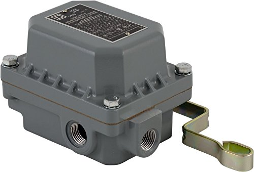 Square D 9036DW31 Commercial Open Tank Float Switch, NEMA 4/7/9, Contacts Close on Rise