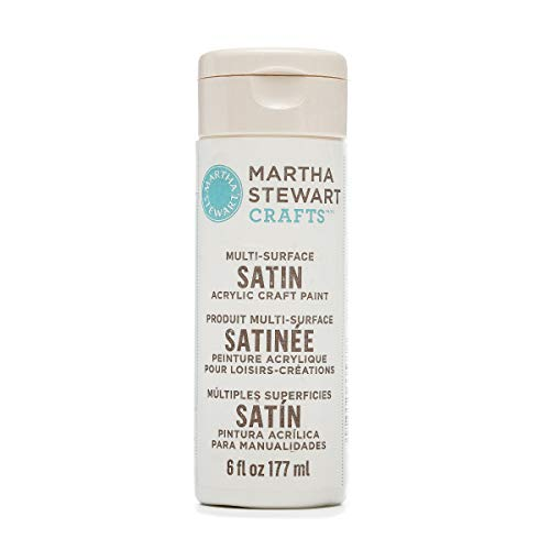 Satin Enterprise - Martha Stewart Crafts 33577 Martha Stewart Multi-Surface Satin Wedding Cake, 6 oz Paint