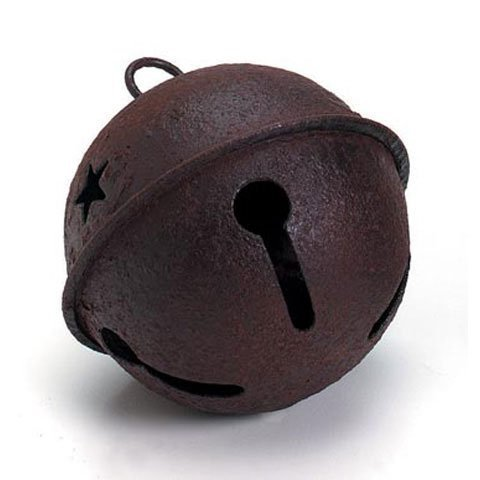 - Bulk Buy: Darice DIY Crafts Rusty Bell with Star Cutouts 65mm (12-Pack) 1091-20