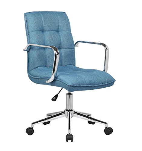 Porthos Home Theresa Office Chair, Blue (Office Chair Blue)