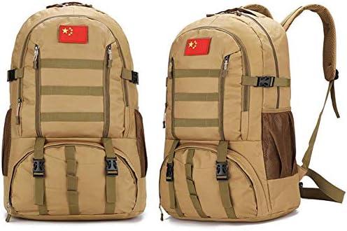 BAJIMI アウトドアハイキングキャンプ旅行60L軍の戦術的なリュックサックサイクリングバッグ/スタイル/Cのためのバックパック