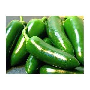 Serrano Jalapeno Peppers (Jalapeno Chile Pepper - 100 + Seeds - GARDEN FRESH)