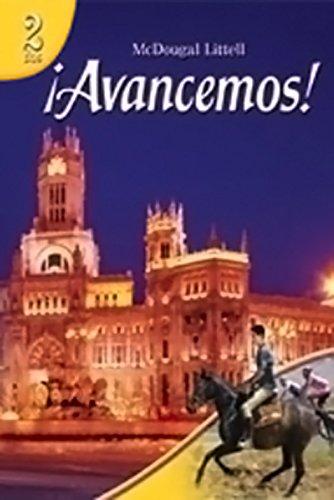 ?Avancemos!: Cuaderno: Practica por niveles Workbook Teacher's Edition Level 2 (Spanish Edition)