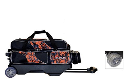 900 Global 3 Ball Deluxe Roller (Black/Orange Camo) by 900 Global