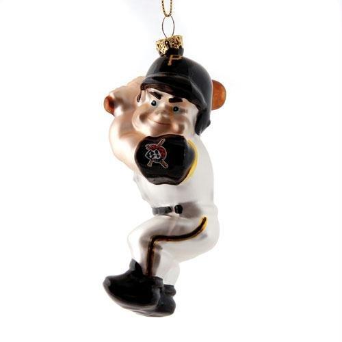 UPC 801946153108, MLB 4.5' Glass Batter Ornament - Arizona Diamondbacks (Set of 3) MLB Team: Pittsburgh Pirates