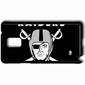 Personalized Samsung Note 4 Cell phone Case/Cover Skin 1315 oakland raiders Black by mcsharks