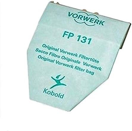 Amazon De Kobold 130 131 Original Papiertüten 6 Stück Fp131 Vorwerk Staubsauger