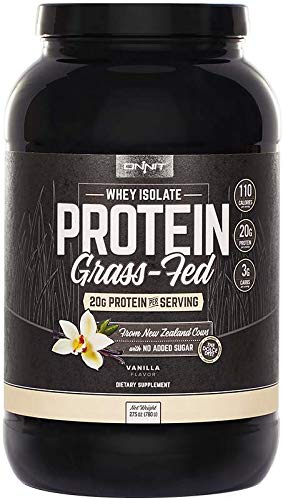Onnit Grass-Fed Whey Isolate Protein - Vanilla (30 Servings)