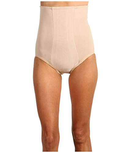 Miraclesuit Shapewear Women's Extra Firm Shape with an Edge Hi-Waist Brief, Nude, MD ()