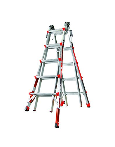 Little Giant Ladder Systems 12022-801 Revolution M22 with Ratcheting Levelers (Used Trucks For Sale In My Area)
