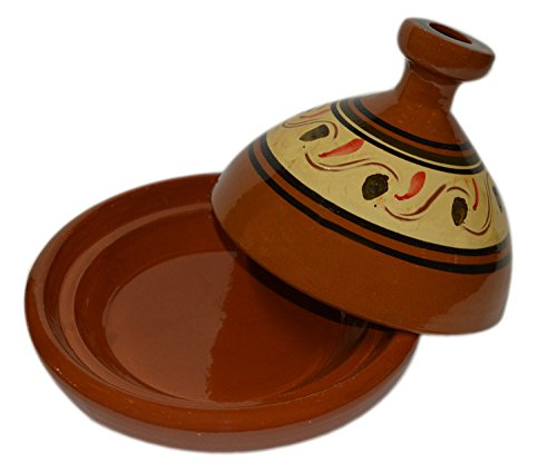 Moroccan Medium Simple Cooking Tagine Lead Free by Cooking Tagines (Image #1)