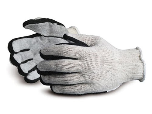 Superior SQSW Sidewall Deluxe Leatherface String Knit Glove with True Hand Technology, Work, Medium (Pack of 1 Dozen) by Superior Glove Works B00BHMJ8K8