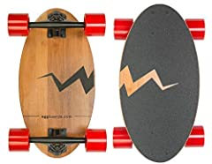Our longboards skateboard are unique because they combine the portability of small cruiser board inch with the stability of a longboard. Our skateboard wheels and bearings are fast. Our blank skateboard grip tape has a unique design that will...