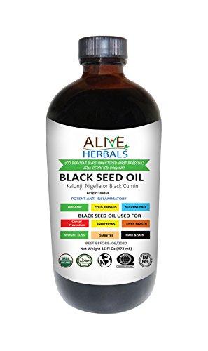 black cumin seed oil organic - 9