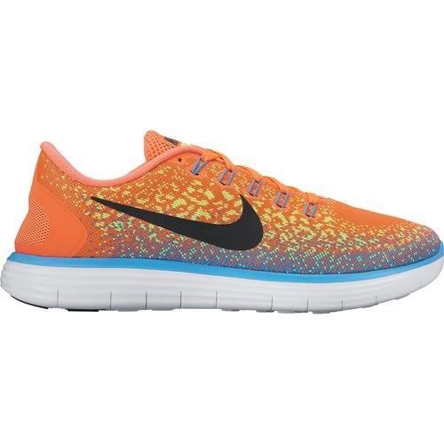Nike Mens Free Rn Distance Running Shoe (10.5 D(M) US, HYPER ORANGE/BLACK-VOLT)