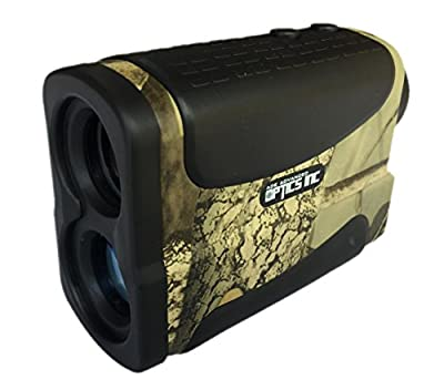 Ade Advanced Optics Golf Rangefinder Hunting Range Finder with PinSeeker Laser Binoculars, Camouflage by Ade Advanced Optics