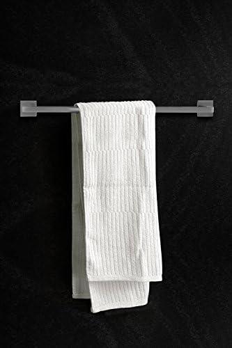 Ambrosya®   Exclusive Towel Rail Made of Stainless Steel   Bathroom Bathroom Holder Bracket Towel Towel Hook Towel Bar Towel Rack Rod (Stainless Steel (Brushed))