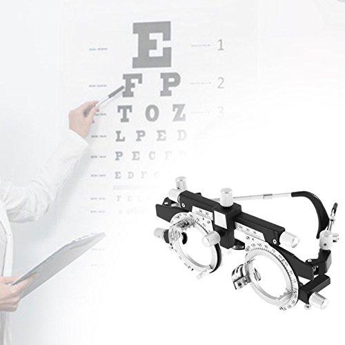 CLKjdz Adjustable Eye Optometry Metal Frame Optical Optic Optician Trial Lens Frame