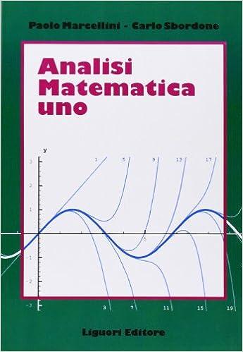 Marcellini Sbordone Analisi 2 Pdf