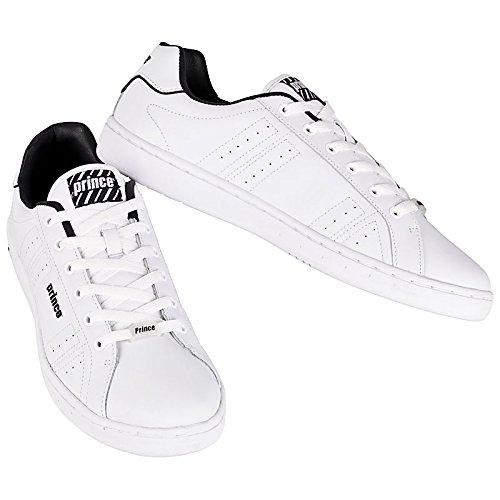 Prince Classic White-Black Herren Schuhe Weiß Weiß (Weiß-Schwarz)