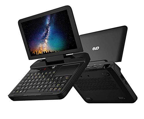 GPD MicroPC, 6-inch Handheld Industry Laptop Windows 10 Pro 8GB RAM/128GB ROM Portable PC Apply to Communication, Electric Power, Exploration, Mining, Archaeology, Business Services