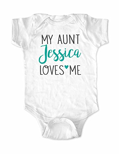 My Aunt Loves Me Onesie - 9