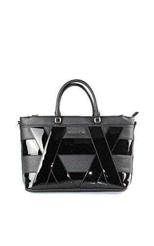 Versace - Bolso de tela para mujer Black