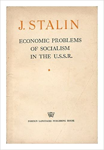 Economic Problems Of Socialism In The Ussr Stalin J V Amazon Com Books
